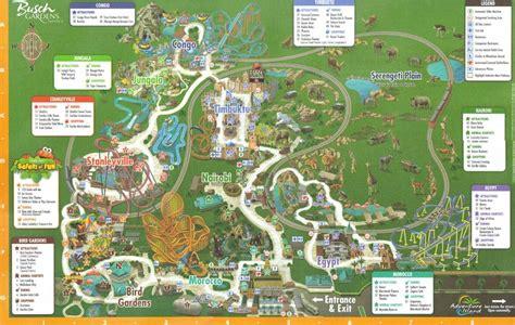 Busch Gardens Phone Number by Park Map Busch Gardens Ta Phone Number 8