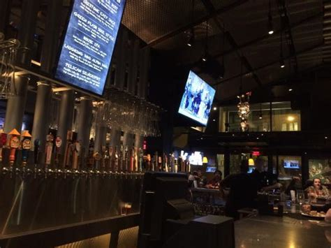 yard house seattle yard house has an extensive bar look out for the beer quot specials quot picture of yard