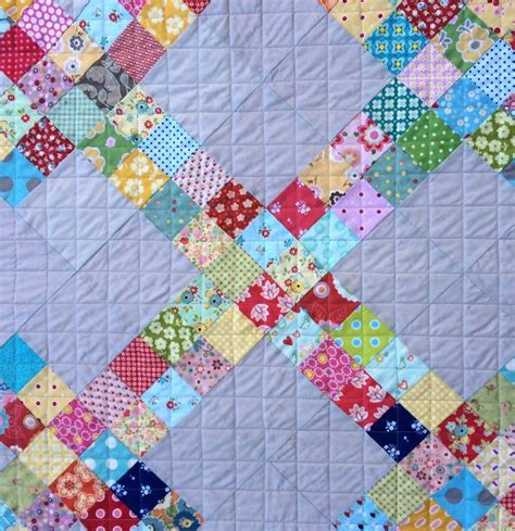 How To Make A Patchwork Quilt Out Of Baby Clothes - a scrappy quilt block tutorial free