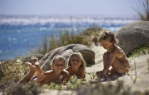 naturist child chia laguna resort chia laguna holiday resort sardinia