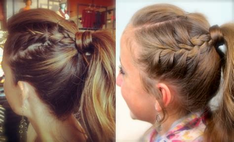 curly hairstyles for two year olds double frenchbacks into high pony cute ponytail ideas