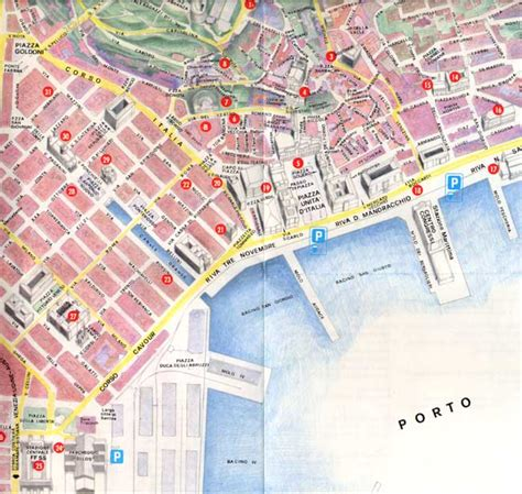 map of trieste italy vuv xiii