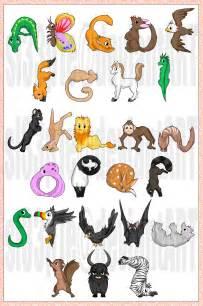 vector animal alphabet by sl33p1e on deviantart