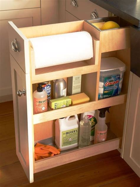 cleaning solution for kitchen cabinets small kitchen solutions 9 clever kitchen cabinet ideas