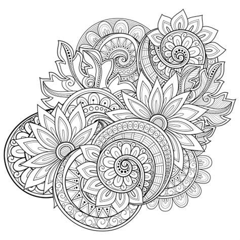 Advanced Flower Coloring Pages flowers advanced coloring pages 17 kidspressmagazine