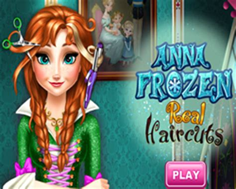 haircut games anna play free anna frozen real haircuts online frozen games