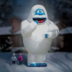 Gigantic 15 foot inflatable bumble the abominable snow monster the