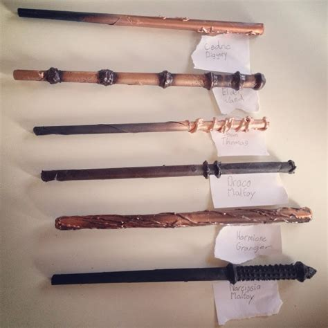 how to make your own harry potter wands easy