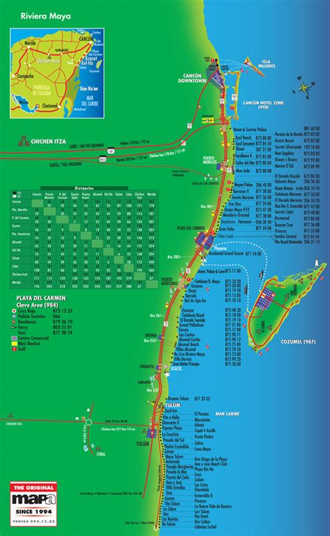 riviera map map of resorts in riviera secrets pictures to pin on pinsdaddy
