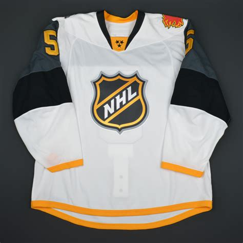 Giordano 160604 Authentic Id Authentic Id giordano 2016 nhl all pacific division all worn jersey worn in