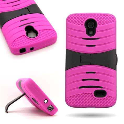 New Monocozzi Lucid Shock Protection Soft Shell For Iphone 7 for lg lucid 3 total protection kickstand tough hybrid phone cover ebay