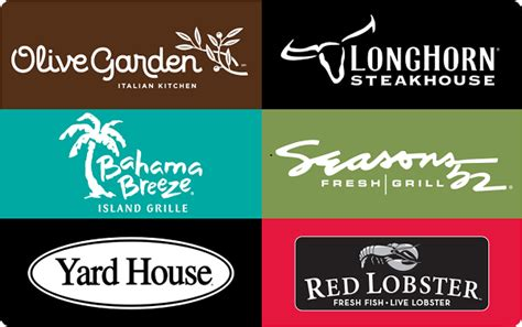 Where Are Fandango Gift Cards Accepted - darden restaurants gift cards darden restaurants