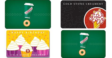 Costco Gift Cards Amazon - amazon 50 worth of krispy kreme or cold stone creamery gift cards only 40 delivered