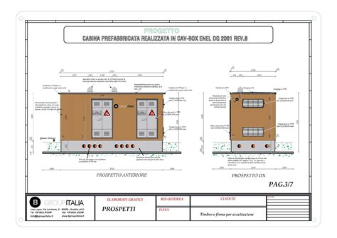 cabina enel prefabbricata dg 2061 ed 8 b italia srl cabine elettriche
