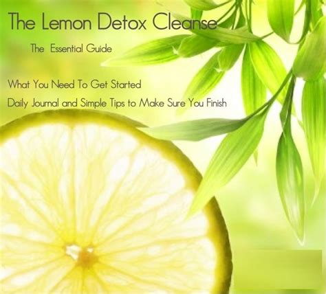 How Lemon Detox Works by 26 Best Clean Images On Healthy