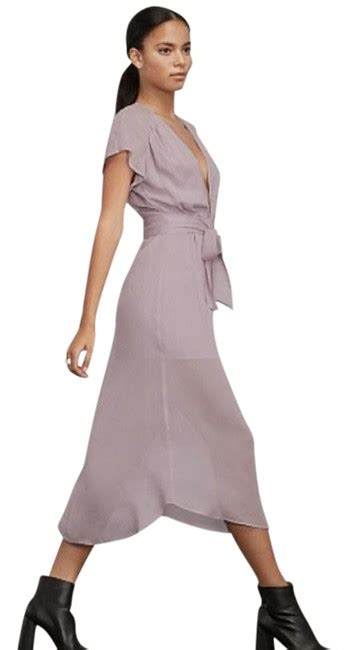 reformation lavender thalia mid length casual maxi dress
