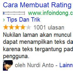 membuat rating blog naik cara membuat rating bintang di blog
