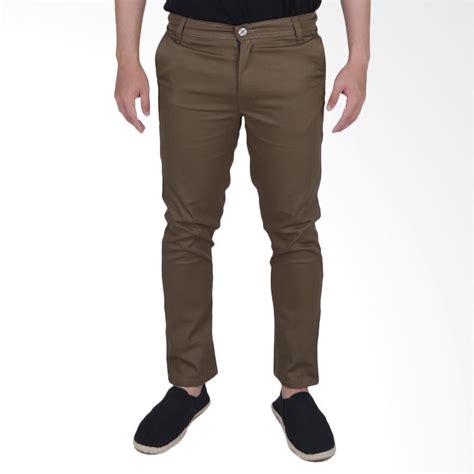 Celana Dalam Bercak Coklat jual elfs shop chino simple celana panjang pria coklat tua harga kualitas terjamin