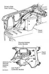 1997 ford thunderbird theft system car alarm electrical problem