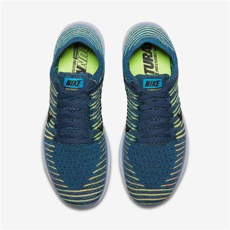 Sepatu Nike Free 5 0 Blue jual sepatu lari nike free rn flyknit blue original