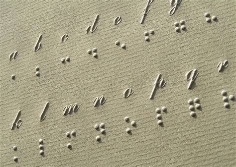 Who Invented Braille Letters