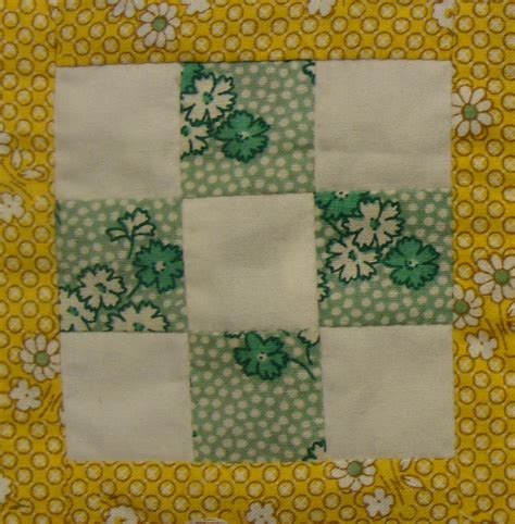 Iowa Quilt Block by Nifty Fifty Quilters Of America 1930 Reprodution 50 State