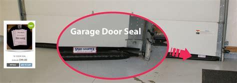 garage door has gap at bottom the ultimate garage door seal and threshold seal