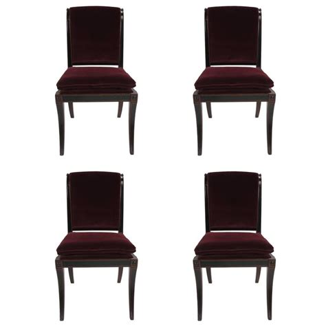 baker dining room chairs set of four regency style dining chairs by baker furniture