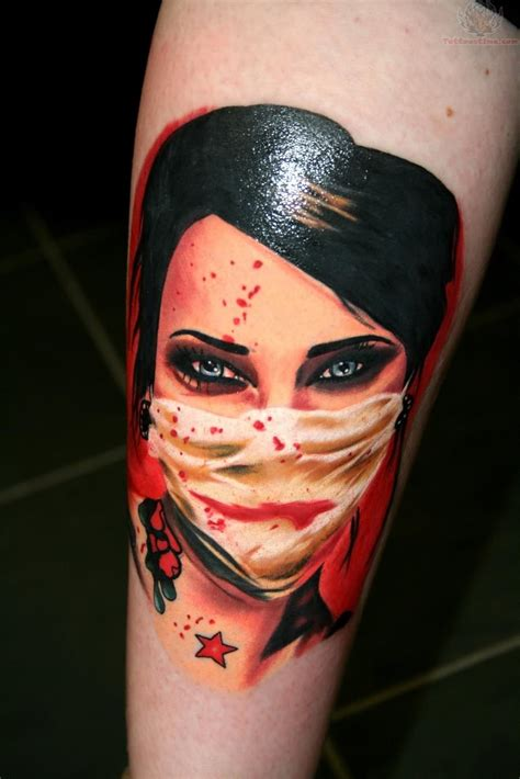 zombie girl tattoo designs tattoos image