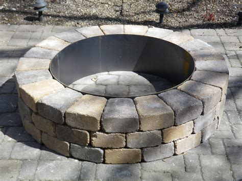 gas pit insert gas pit ring insert fireplace design ideas