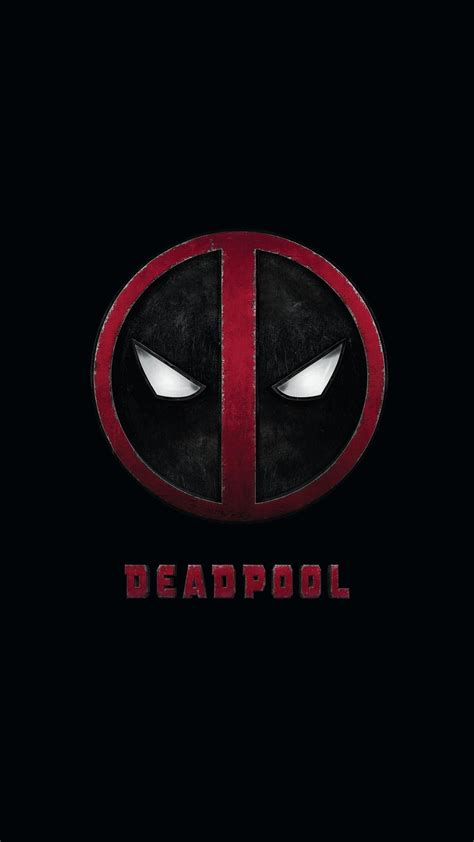 wallpaper android deadpool deadpool comic movie logo android wallpaper free download