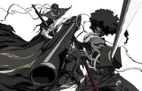 wallpaper anime samurai afro samurai full hd wallpaper and background image