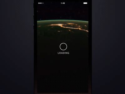 App Layout Not Loading | loading screen orbital by alex ivanov dribbble