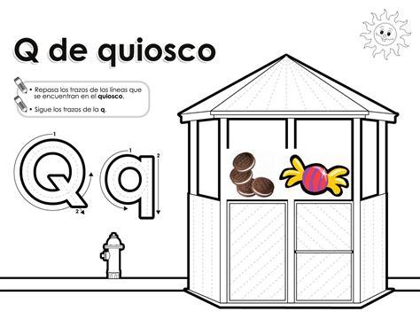 palabras con la letra q q ejemplos de palabras con q imagenes de objetos con la letra q dibujos que inicien