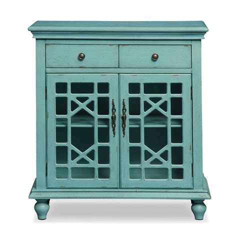 Teal Accent Cabinet grenoble accent cabinet teal american signature furniture