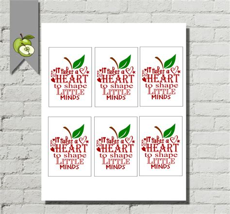 printable christmas gift tags for teachers teacher gift tags thank you apple gift tag teacher gift