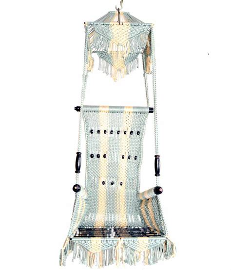 jhula swing designer jhula swing in blue buy designer jhula swing in