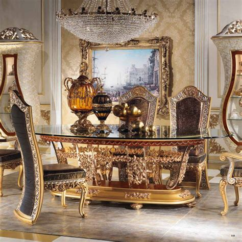 european dining room furniture european style luxury imperial wood carved decorative