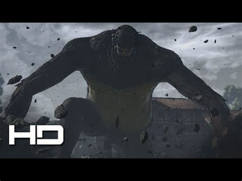 Who Is The Beast Titan Attack On Titan Ps4 Ape Beast Titan Boss Full Fight