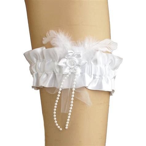 garters for brides 737 wedding garters 113 garter of satin has flower for