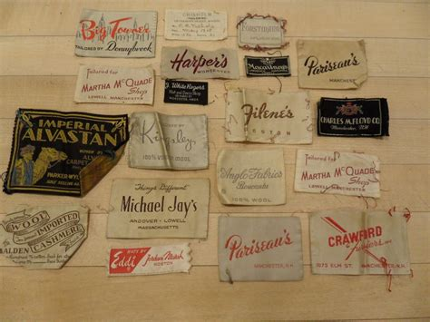 Aufkleber Kleidung by Vintage Clothing Labels Vintage Labels Ads Packages
