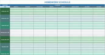 Time Schedule Template by Free Daily Schedule Templates For Excel Smartsheet