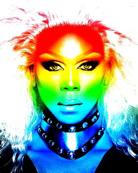 Detox Trans Rupaul by Rupaul Rainbow Drag Arco 237 Ris E Ru Paul