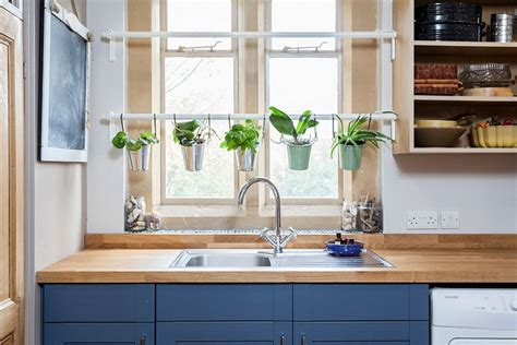 Hanging Herbs In Kitchen Window by 18 Creative Ideas To Grow Fresh Herbs Indoors