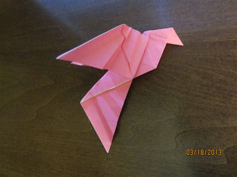 Origami Peace - daily origami 39 peace dove by naganeboshni on deviantart