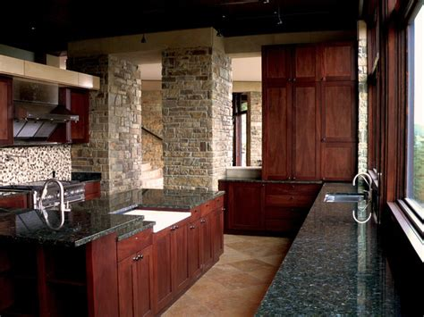 love the black cabinets and the granite countertops sunshine canyon house eclectic kitchen denver by