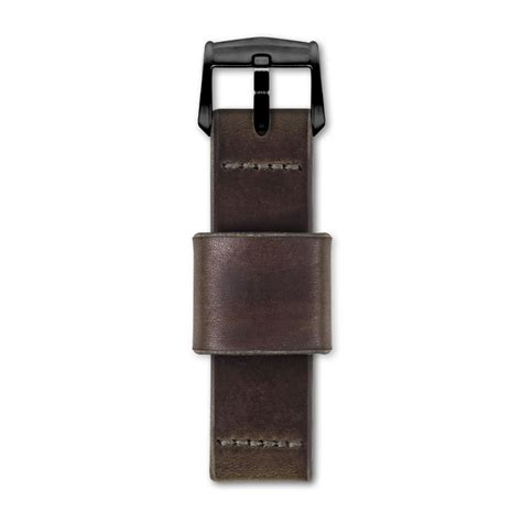 Handmade Straps - brown handmade n 186 1934 24mm band