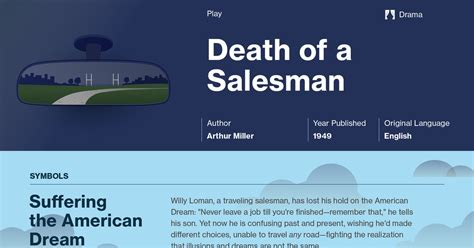 different themes in death of a salesman death of a salesman study guide course hero