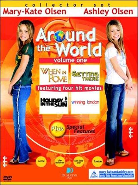 mary kate ashley around the world collection dvd