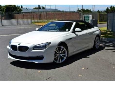 bmw 6 series convertible for sale 2011 bmw 6 series 650 5 0l convertible auto for sale on